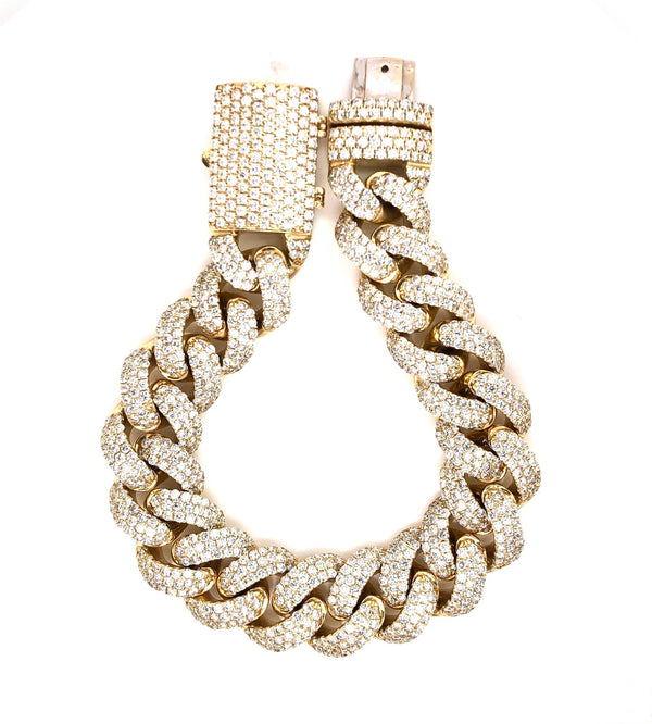 Miami Cuban Gold Bracelet
