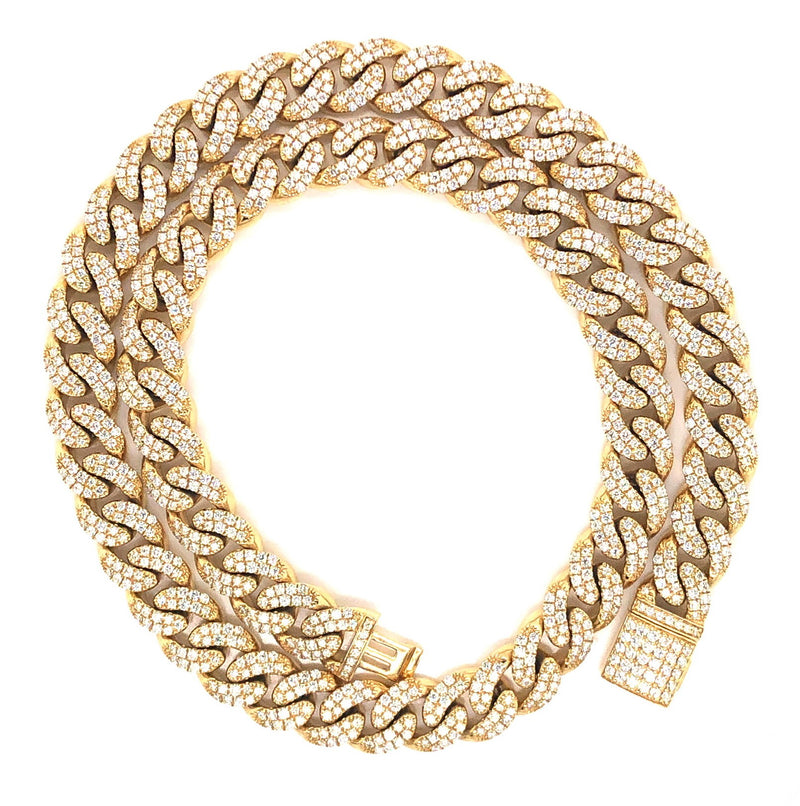 Cuban Yellow Gold Chain