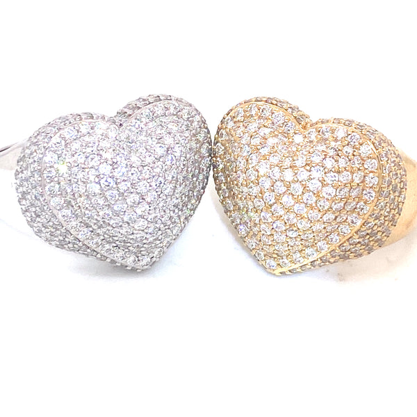 Bubble Star - Yellow/White Gold & VS Diamonds