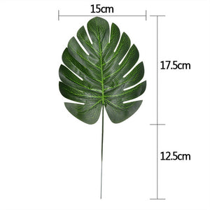 10Pcs Artificial Leaf