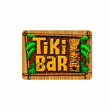 Load image into Gallery viewer, Tike Bar Metal Tin Signs Tropical Vintage