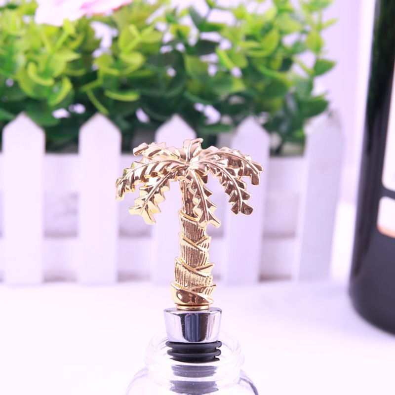 Coconut Tree Bottle Stopper