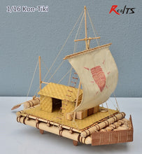 Load image into Gallery viewer, KON tiki wooden boat