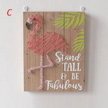 Load image into Gallery viewer, LED Wall Decor Lights Flamingo Night Lamp Decoration Bar Decor Tropical supplie
