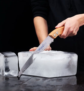 Wooden ice saw