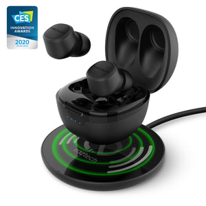 Freedom+ True Wireless Earbuds with Wireless Charging Pad