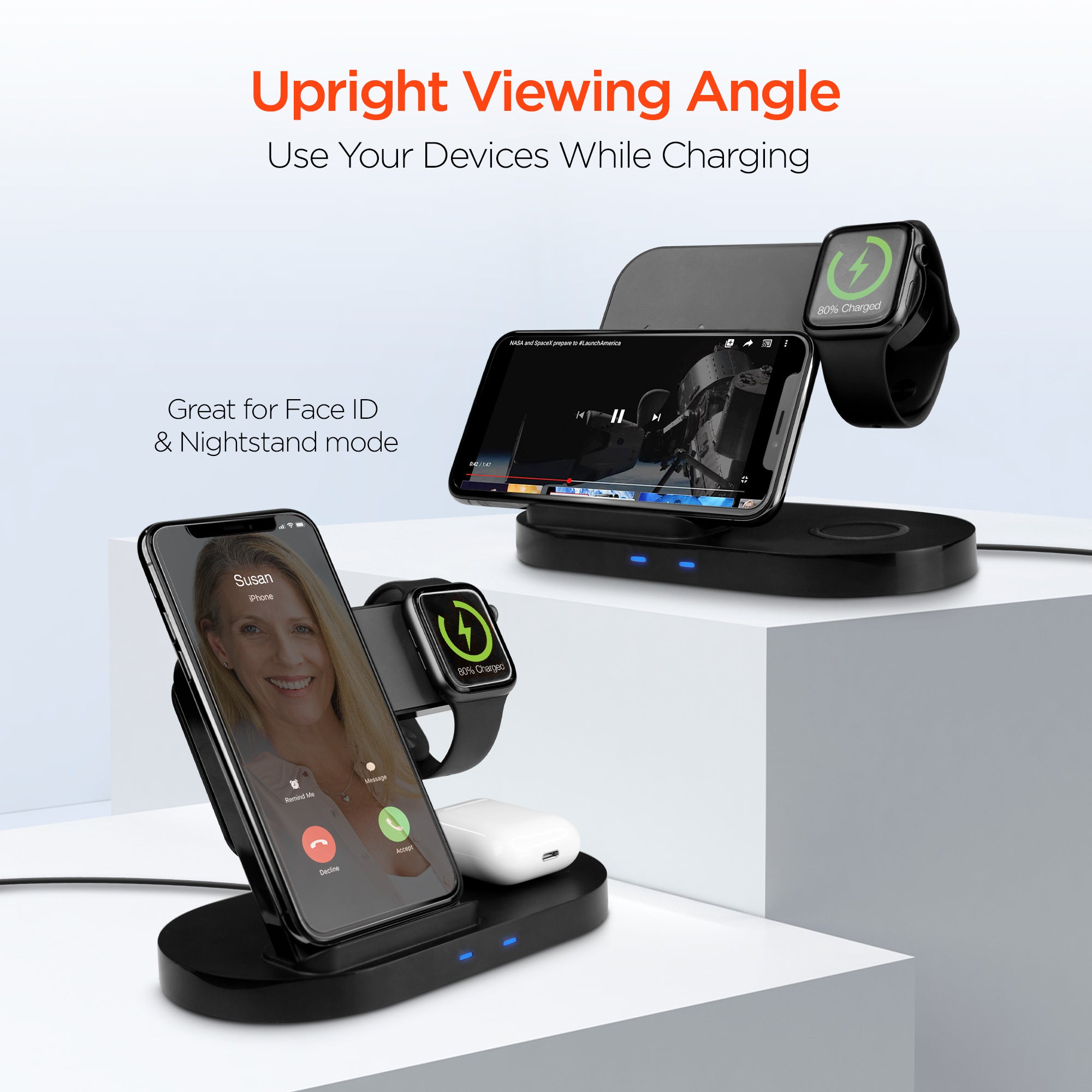 3-in-1 Wireless Charging Dock