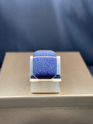 Blue Luxury Airpod Case