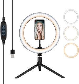10 Inch Desktop Ring Light