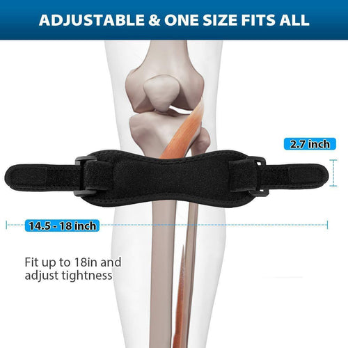 The Ortho Plug™ Adjustable Patella Knee Tendon Support