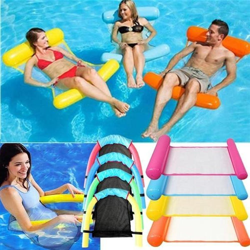 Floating Sleeping Bed Inflatable Water Hammock