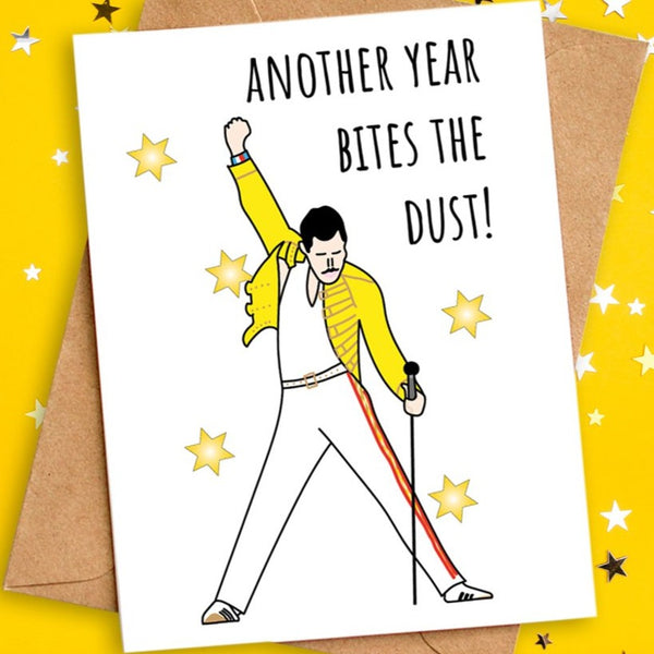 freddie mercury card