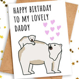 happy birthday card to daddy