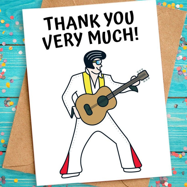funny thank you card