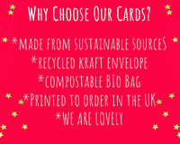 why buy our eco friendly christmas cards
