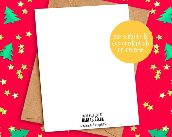 why buy our funny xmas cards