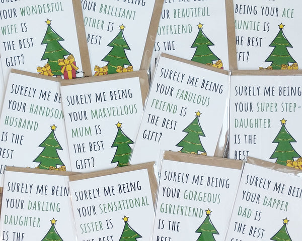 best gift christmas cards
