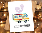 merry christmeth card