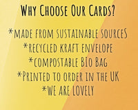 why buy our eco friendly new home cards