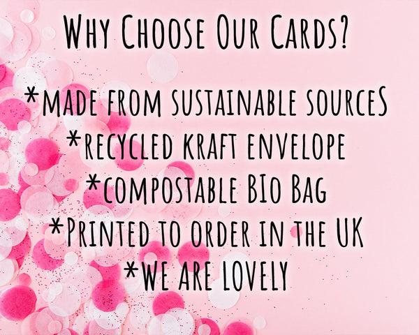 eco friendly love you cards