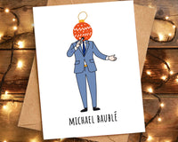 Michael Bublé christmas card