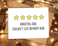 father's day card funny