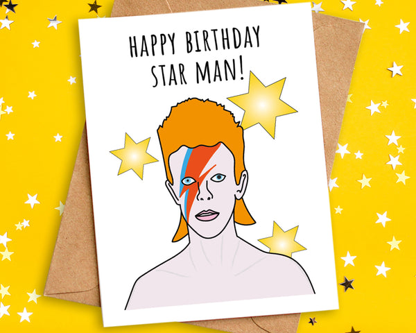 Happy Birthday Star Man