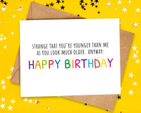 rude funny birthday cards