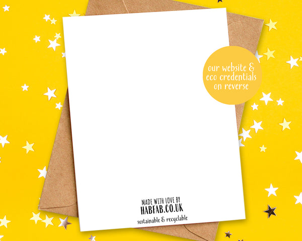why buy our eco friendly birthday card