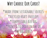 why buy our eco friendly valentines card