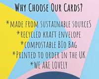 why buy our eco friendly greeting cards