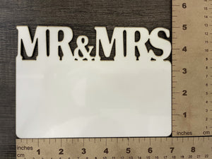 MDF MR&MRS Name Plate