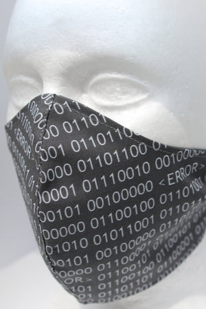 Binary Print Moulded Mask