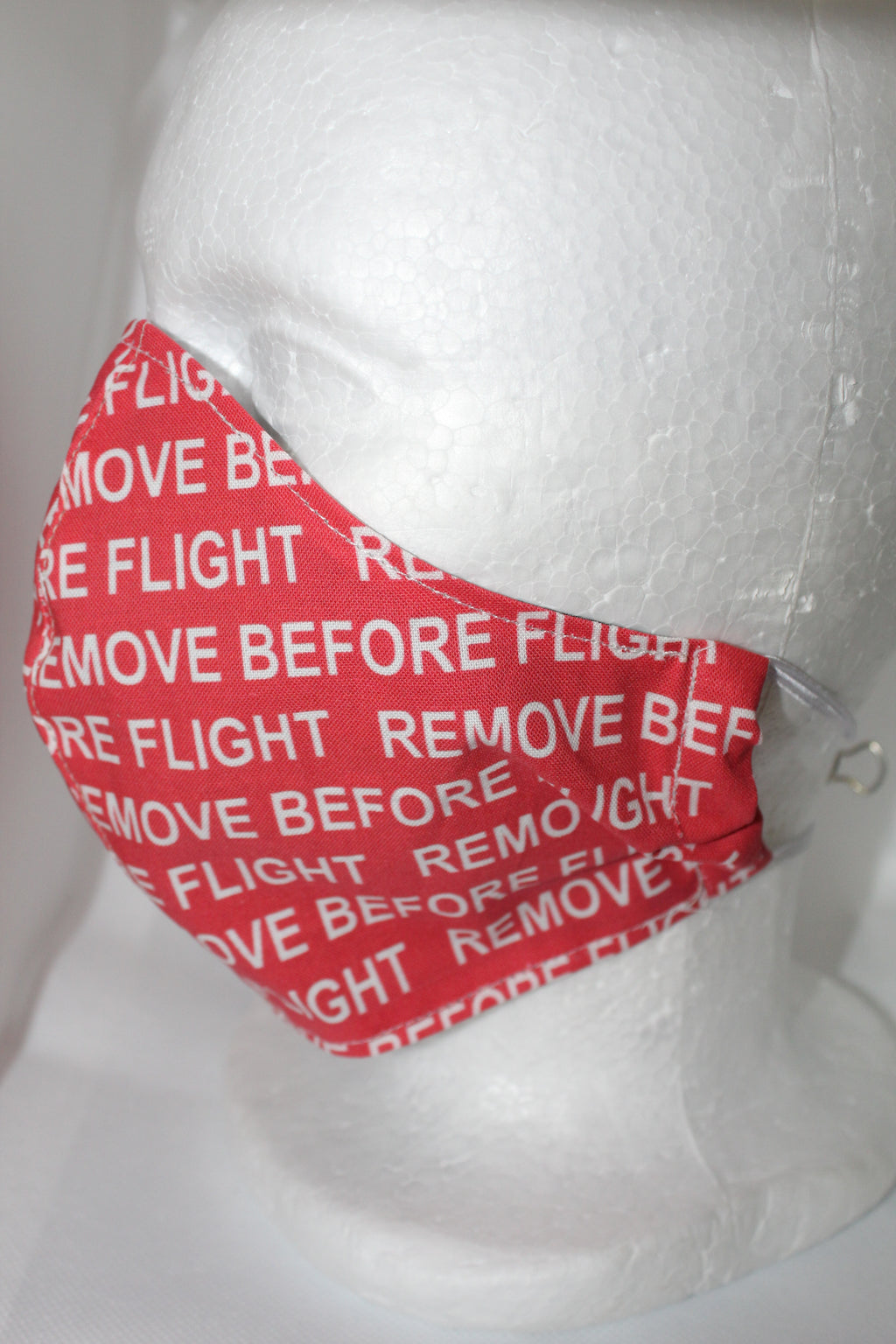 Remove Before Flight Fabric 100% Cotton Heavy Material