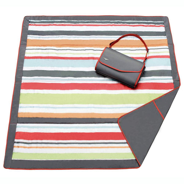 Manta De Picnic Gray Red