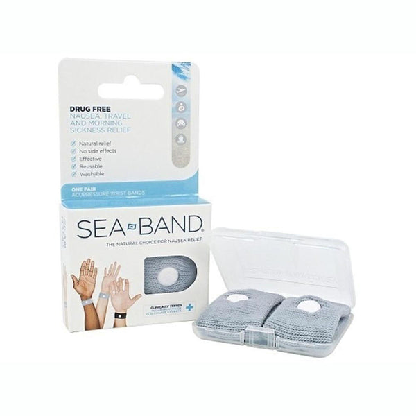 Pulseras Anti Mareo Sea Band Adulto Gris