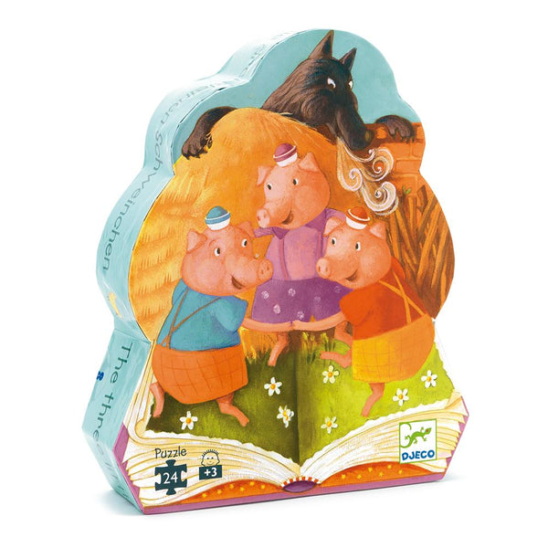 Puzzle Los 3 Chanchitos 24 pcs
