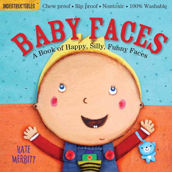 Libro Indestructibles: Baby Faces