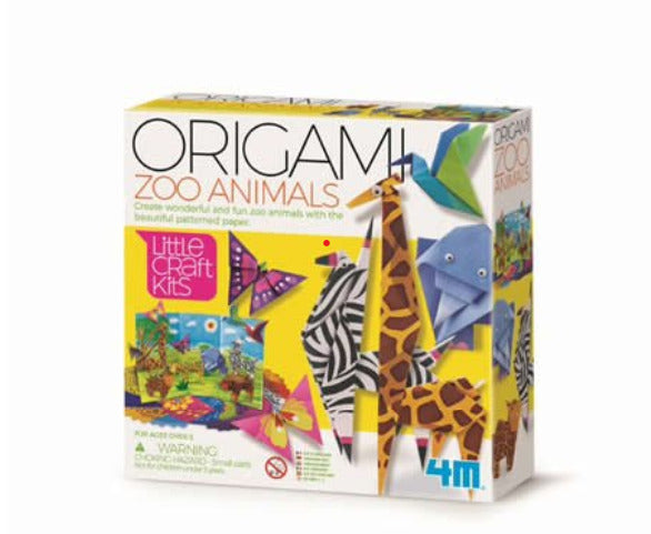 Set de origami Animales del Zoo