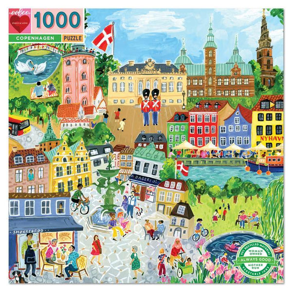 Puzzle Copenhague 1000 pcs