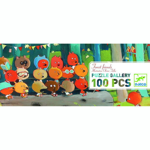 Gallery Puzzle Forest Friends 100 pcs