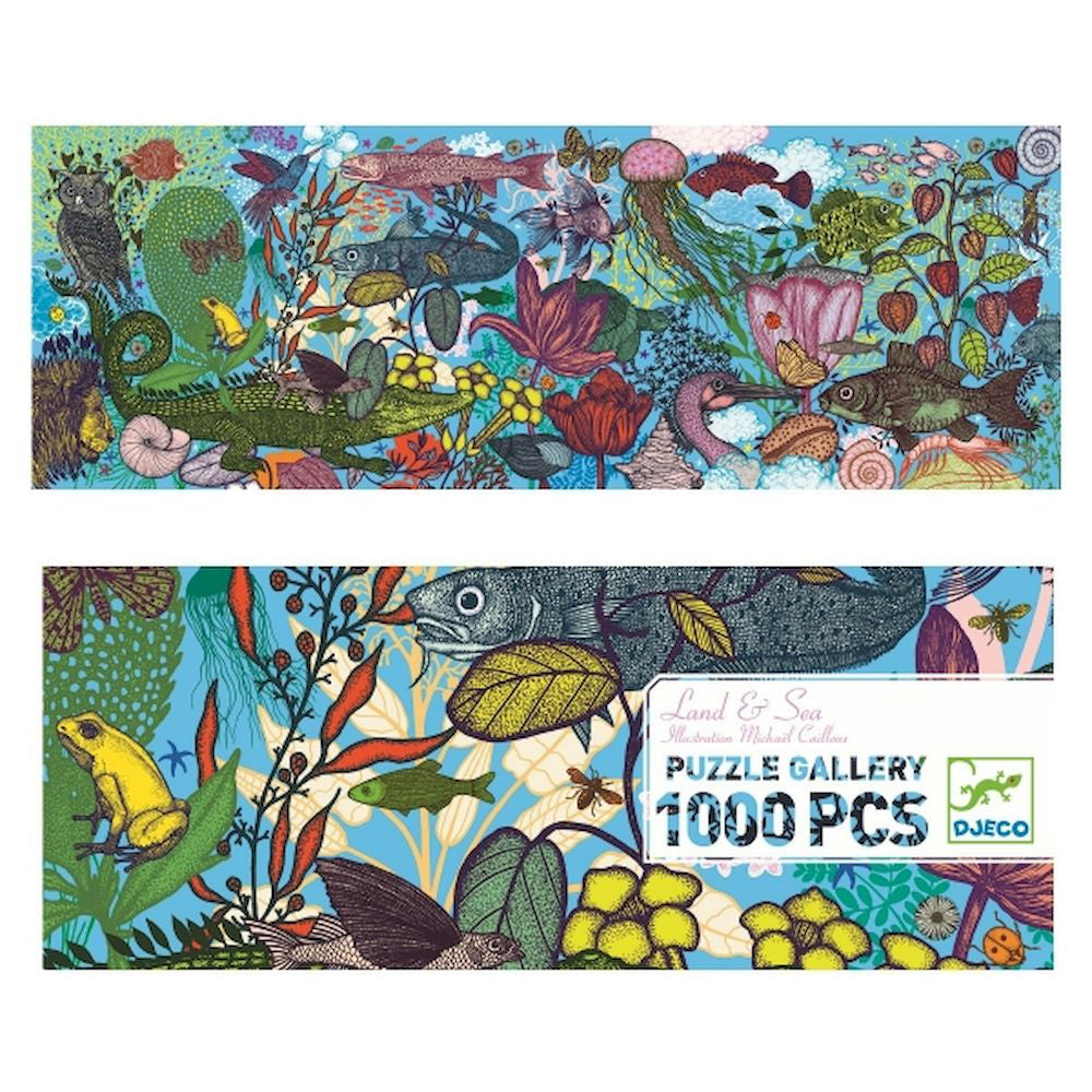Puzzle Land & Sea 1000 pcs