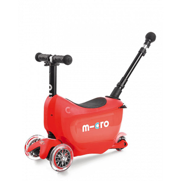 Scooter Mini2go Deluxe Plus Rojo