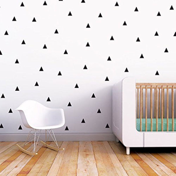 Wall Stickers Triangulos (75) Negros