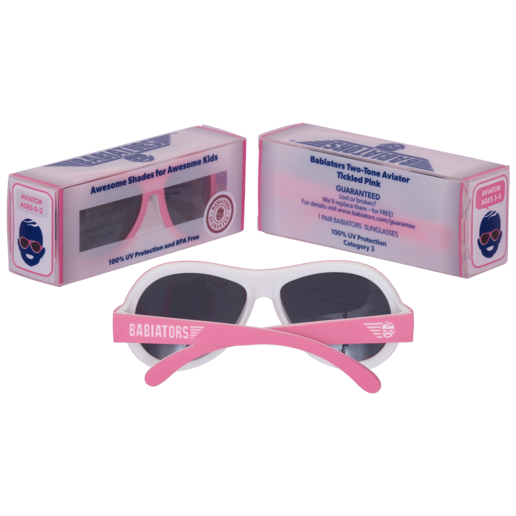 Lentes De Sol Bicolor Tickled Pink