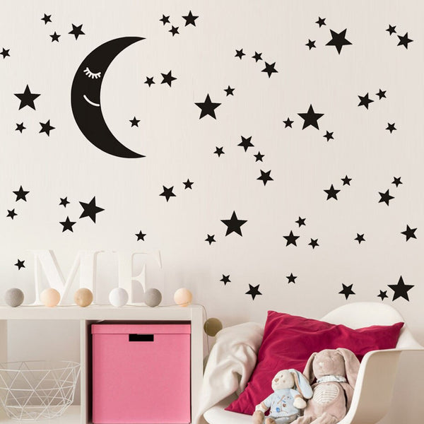 Wall Stickers Estrellas MIX (147) Negras