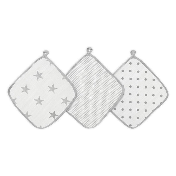 Pack de 3 Tutos Muselina Gris