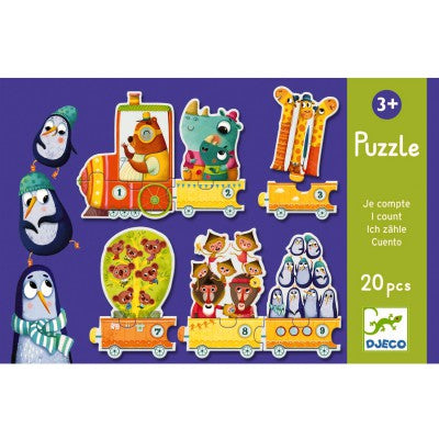 Puzzle Educativo I count