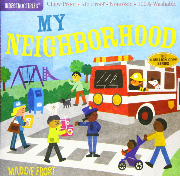 Libro Indestructibles: My Neighborhood