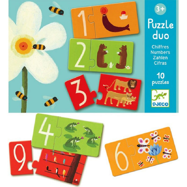 Puzzle Educativo Numbers
